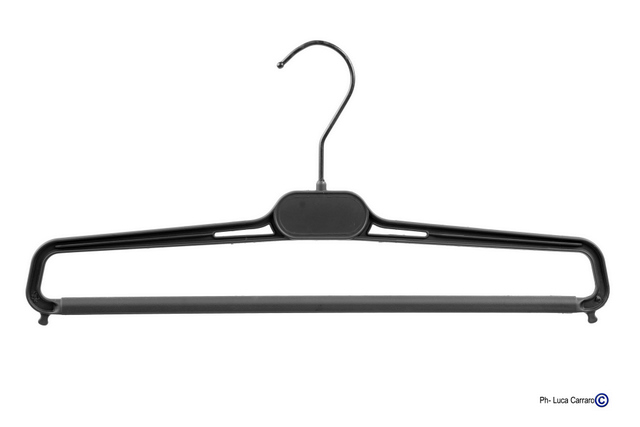 SOFT-TOUCH RUBBERIZED HANGERS Mod. X/PD, Box 50 Pieces
